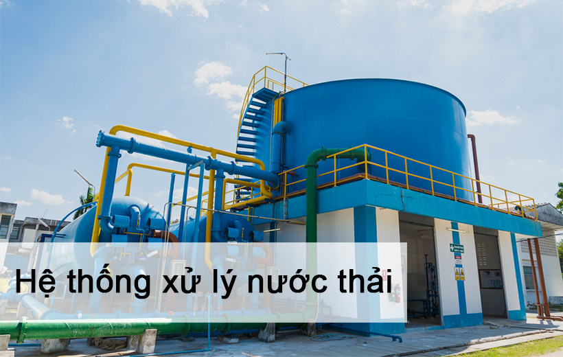 Industrial wastewater treatment system