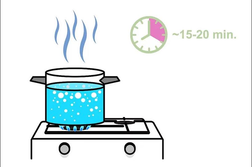 Cách xử lý nước có Clo bằng phương pháp nhiệt