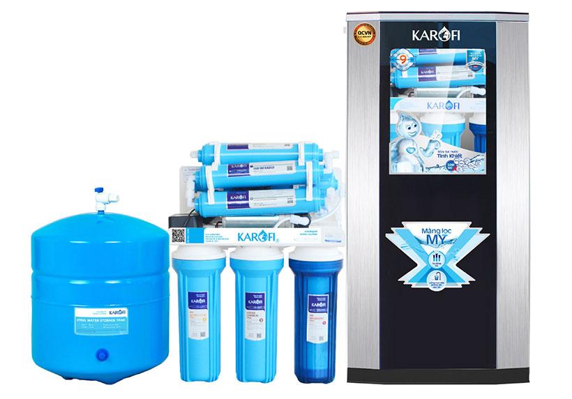 Sử dụng máy lọc nước để lọc nước giếng khoan bị nhiễm phèn